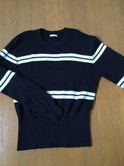 GU ボーダーセーター(長袖)XL 新品