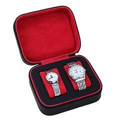 腕時計収納ケース 収納ボックス PUレザー2本