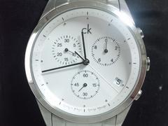 4643/カルバンクラインckk22371定価5万円位スポーツクロノグラフメンズ腕時計