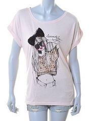 スプレイ★リボン付GIRL Tシャツ