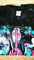 BABYMETAL/BLACK BABYMETAL/Tシャツ/size(L)!