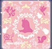 【新品】美女と野獣の一番くじ・ハンドタオル(オーロラ姫)