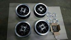 roverミニ BMC ミニ ローズペタル4.75J×10 4本セット 新古品