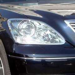 トヨタ ヘッドライトリングセルシオ30系31系後期用