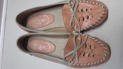 カジュアルピンク夏靴!