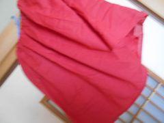 新品タグ付3900円earth薄手ピンクスカートF*クリックポスト164円