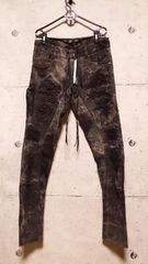 KMRIIケムリ COTTONSPANDEX CRUSH SKINNY TWILL PANTS 3