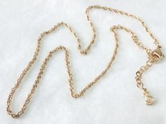 5040/バーバリー珍しいゴールドネックレス男女でお使い頂けるアクセサリー