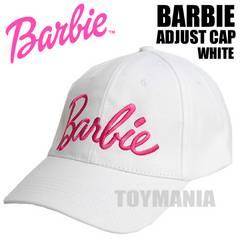 新品 ブランド バービー ロゴ コットン キャップ レディース 女性 白 ホワイト