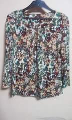 素敵な カットソーL7分袖 絹100