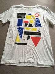 TK○プリント半袖Tシャツ○L、中古、メンズ