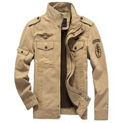 3色 立て襟 メンズジャケット フライトジャケッ M~6XL/AK115