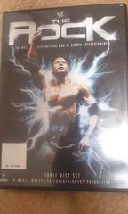 WWEザ・ロック三枚組DVD(WWF時代からの試合収録)