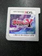 3DS[ポケットモンスターY]ソフトのみ/動作確認済み/補強発送