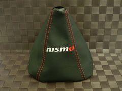 NISMO ニスモ レザーシフトブーツ カバー MT用 レッドステッチ