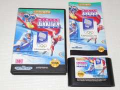 MD★WINTER OLYMPIC GAMES GENESIS
