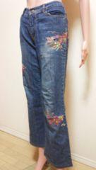 大きいCOCO5…可愛いビーズ刺繍のデニムB2☆3点で即落☆
