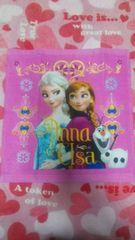 アナと雪の女王ウォッシュタオルピンク