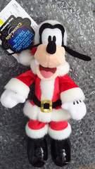 ディズニーランド TDL エレクトリカル パレード クリスマス ぬいぐるみバッジ グーフィー