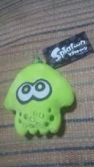 スプラトゥーン《ダイカットコインケース》黄緑