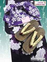 【和の志】女性用浴衣Fサイズお買い得3点セット◇海-248