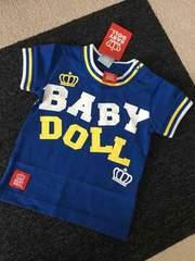 新品 定価1575円 BABY DOLL 半袖Tシャツ 80