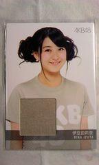 AKB48トレーディングコレクション2伊豆田莉奈・ジャージカード