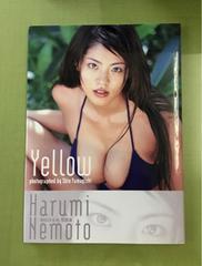 送料無料 根本はるみ 写真集 Yellow 初版