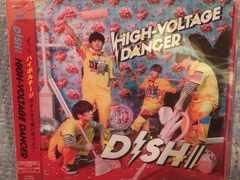 激安!超レア!☆DISH/HIGH-VOLTAGEDANCER☆初回盤B/CD+ DVD☆新品
