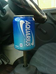 空き缶シフトノブアクエリアスM12×P1.25人気AQUARIUS