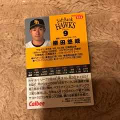 柳田悠岐 プロ野球チップスカード2018