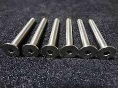 ボススペーサー25mm用 ステアリング取付ボルト M5x40mm ステン