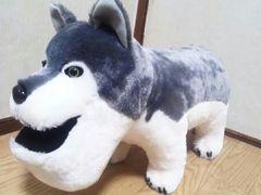 シャクレルプラネットオオカミBIGぬいぐるみ50�pシャクレルオオカミ