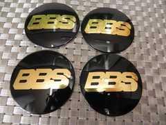 BBS センター ホイール ステッカー4枚組 56mm黒×金4枚価格