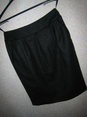 インディヴィ♪ウールスカート36サイズ濃グレー