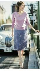 ☆JUSGLITTY☆今期レース刺繍スカート☆