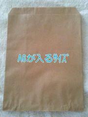 R70サイズ未晒無地平袋40枚★小物の発送にも役立つ紙袋