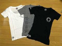 CHROME HEARTS(クロムハーツ)レディースTシャツ3枚セット美品本物