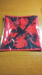 X JAPAN 限定グッズ 巾着(赤) YOSHIKI TOSHI hide ローソン