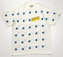 XLARGE エクストララージ 星総柄 Tシャツ M 新品