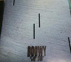 CD BOOWY LAST GIGS 帯無し 氷室京介布袋寅泰 LIVE AT TOKYO