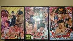 ハッスル DVD まとめ売り/プロレス 小川直也対w WWEWCWゴールドバーグなど