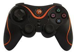 PS3対応 ワイヤレスコントローラー Bluetooth オレンジa