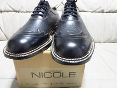 希少! monsieur NICOLE  プレミアム デザイン革靴  美品!