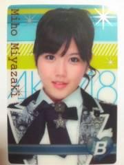 AKB48宮崎美穂 トレーディングプラカードセブンイレブン 未使用新品