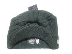 mb287 男 ELEMENT エレメント つば付き ニット帽 緑