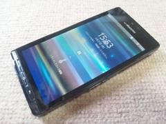 即落/即発!!美中古品 SH-01D AQUOS PHONE ブラック Android4.0