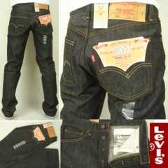 即決新品 リーバイス501 ブラック黒生デニムジーンズ29-46インチ 未洗い■L2