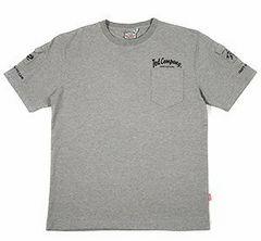 テッドマン/3ポケットTシャツ/ash/tdss-470/エフ商会/カミナリモータース