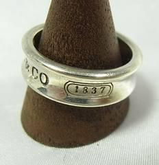 ◆本物確実正規ティファニー 1837リング メンズ 20号